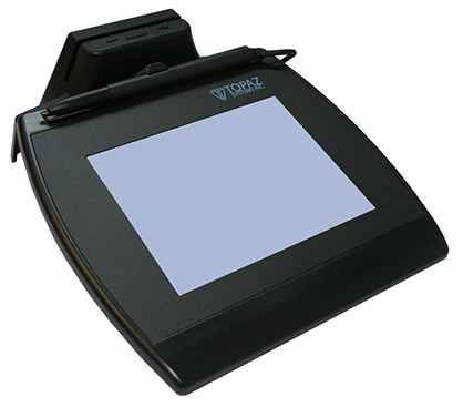 Electronic Signature Pad - SigGem Color 5.7 with MSR