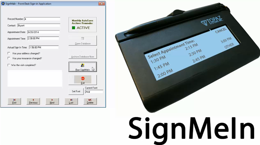 SignMeIn Video Tutorial