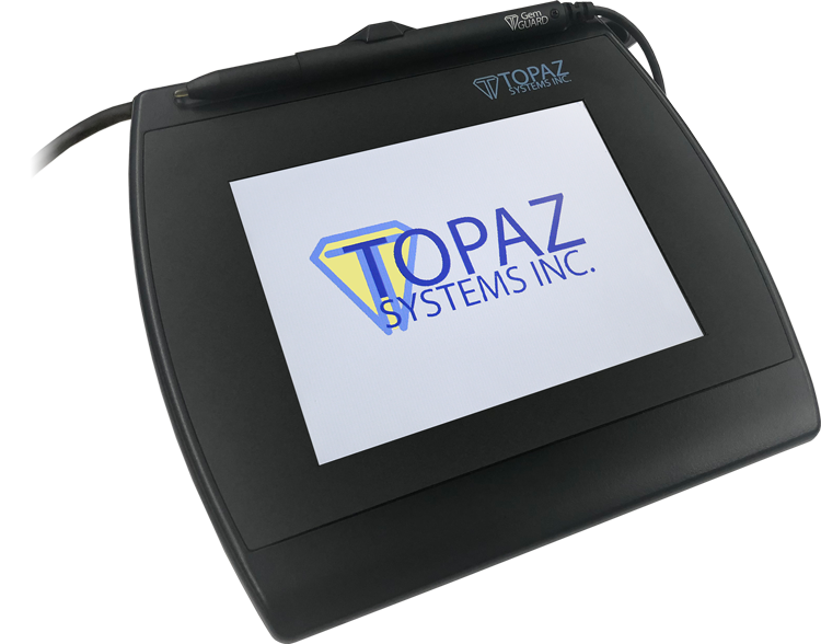 Topaz SigPlusLCD Electronic Signature Software - SigGem Color 5.7 Logo