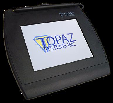 Siggem Color 5 7 Electronic Signature Pad Topaz Systems Inc