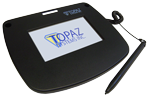 Electronic Signature Pad T-LBK43LC