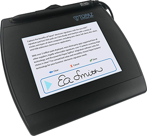 Topaz Electronic Signature Pad - Color 5.7 HSX