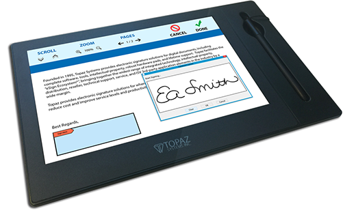 GemView 10 Tablet Display | Topaz Systems Inc
