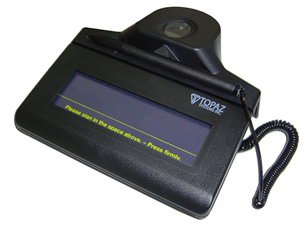 IDLite 1x5 Electronic Signature Pad | Topaz Systems Inc