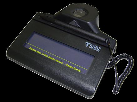 Topaz Signature Pad Driver For Windows 7