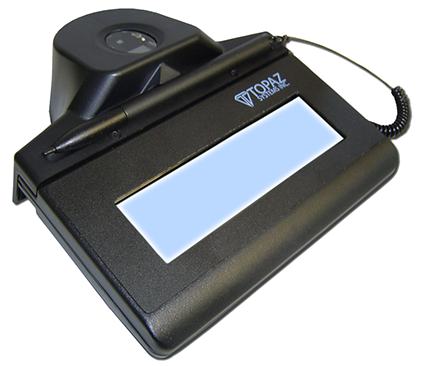 Electronic Signature Pad - IDLite LCD 1x5