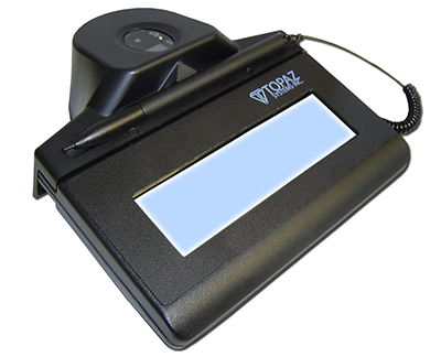 SigIDp1 for Topaz Fingerprint Signature Pads