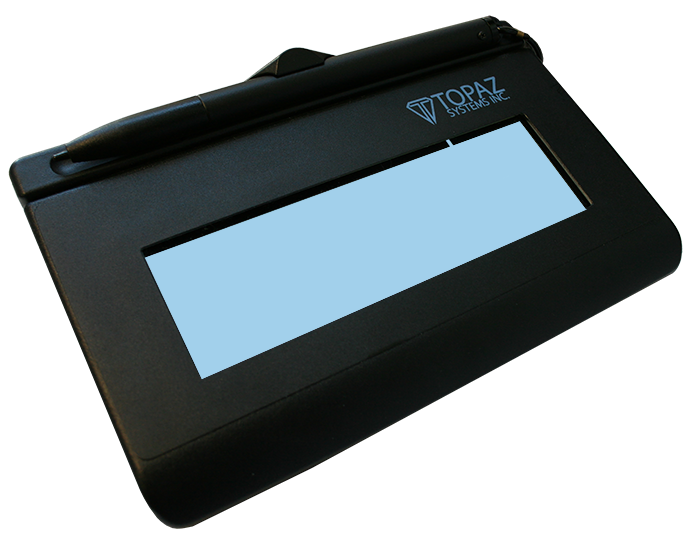 Signaturegem Lcd 1x5 Electronic Signature Pad Topaz