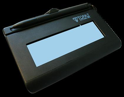 SignatureGem LCD 1x5 Electronic Signature Pad