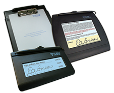 Electronic Signature Pads and Software - Topaz Systems