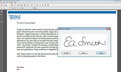 Adobe Acrobat Plug-Ins Electronic Signature Software