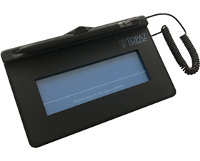 Topaz systems inc signature pad