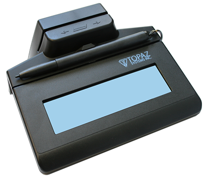 Electronic Signature Pad - SigLite LCD 1x5 with MSR