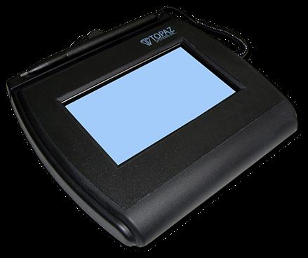 Topaz systems signature pad