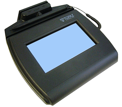 Electronic Signature Pad - SigLite LCD 4x3 with MSR